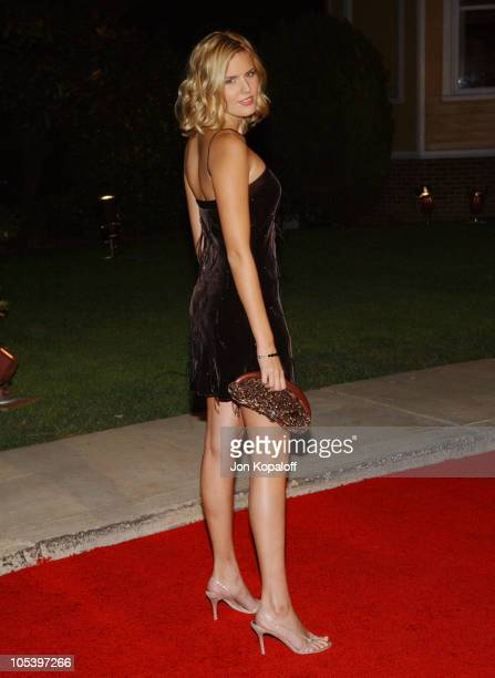 Maggie Grace during 2005 ABC Winter Press Tour Party Arrivals at Universal Studios in Universal City California United States