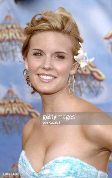 Maggie Grace during 2005 MTV Movie Awards Arrivals at Shrine Auditorium in Los Angeles California United States