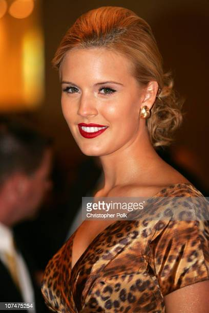 Maggie Grace during 2005 World Music Awards Arrivals at Kodak Theater in Hollywood California United States