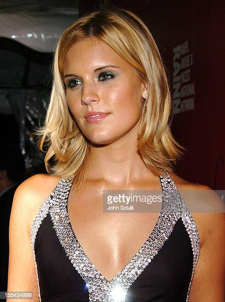 Maggie Grace during 2nd Annual Lingerie Art Auction and Fashion Show Hosted by Fredericks of Hollywood Red Carpet at Hollywood Roosevelt Hotel in Los...