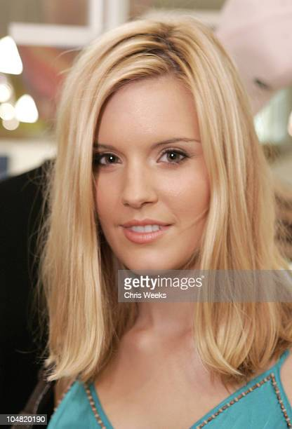 Maggie Grace during 7 For All Mankind and Great China Wall Cocktail Party at Blue Bee at Blue Bee Jeans in Santa Barbara California United States