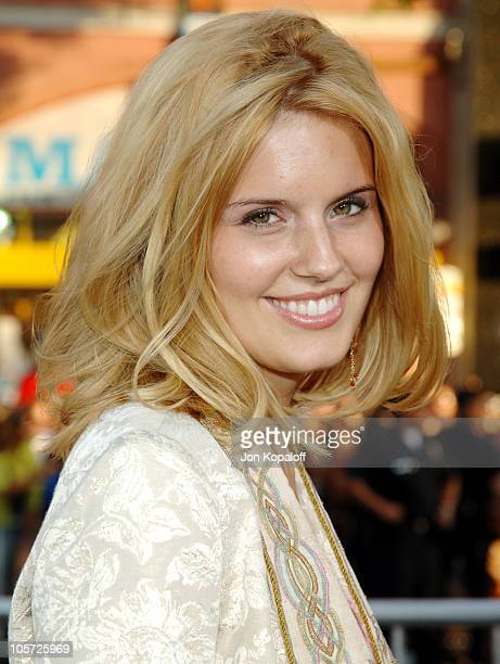 Maggie Grace during Batman Begins Los Angeles Premiere Arrivals at Grauman's Chinese Theater in Hollywood California United States