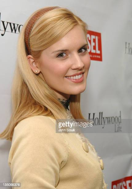 Maggie Grace during Diesel Presents Young Hollywood Awards Countdown March 30 2006 at Liberace's Penthouse in Los Angeles California United States