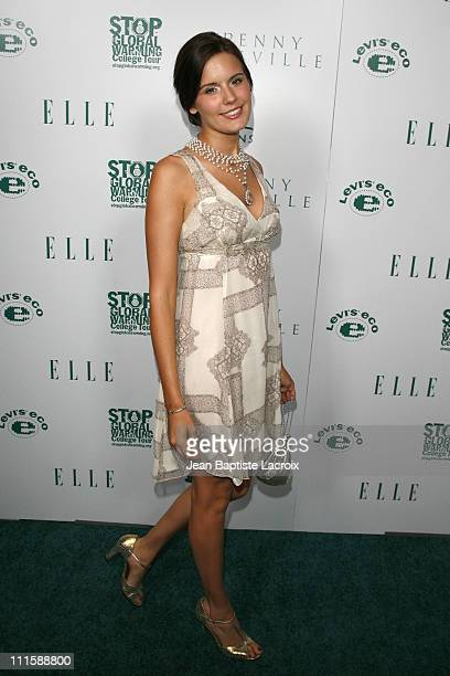 Maggie Grace during ELLE Green Issue Launch Party Arrivals at Boulevard 3 in Hollywood California United States