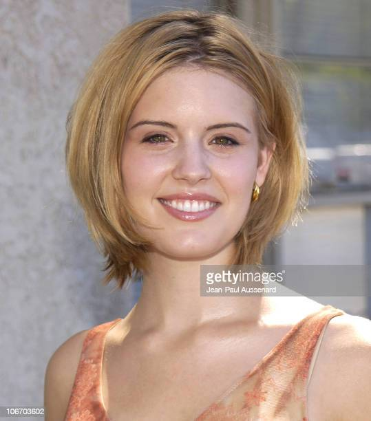 Maggie Grace during Glamour Magazine and Maserati Present The 'Exclusive Beauty Lounge' Hosted by Josie Maran to Benefit Ecolutions at Donicia...