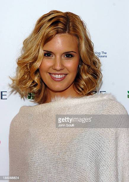 Maggie Grace during Glamour Presents Biolage Golden Globe Style Lounge Day 1 at L'Ermitage Hotel in Beverly Hills California United States