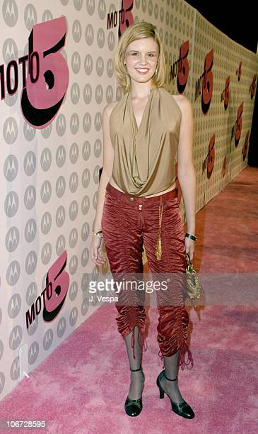 Maggie Grace during Motorola's 5th Anniversary Party Benefiting Toys for Tots Featuring Pink Arrivals at Conjuntive Points in Culver City California...