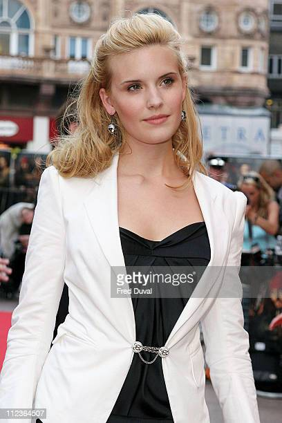 Maggie Grace during 'Pirates Of The Caribbean 2 Dead Man's Chest' London Premiere Outside Arrivals at Odeon Leicester Square in London Great Britain