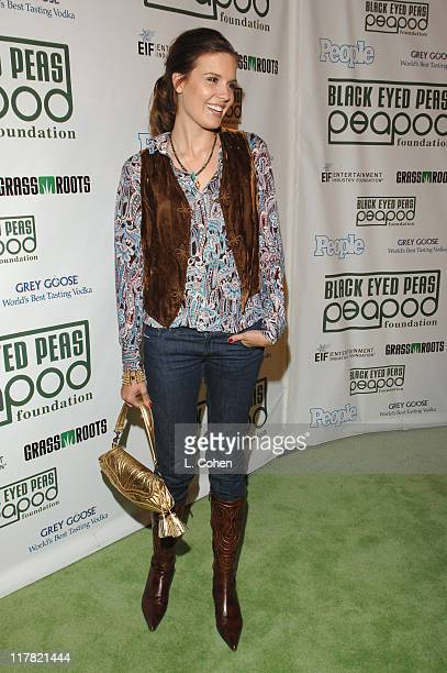 Maggie Grace during The BlackEyed Peas Presents the 3rd Annual Peapod Foundation Benefit Concert Honoring Jimmy Iovine Red Carpet at Avalon in...