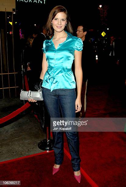 """Maggie Grace during """"The Good German"""" Los Angeles Premiere - Arrivals at Egyptian Theater in Hollywood, California, United States."""