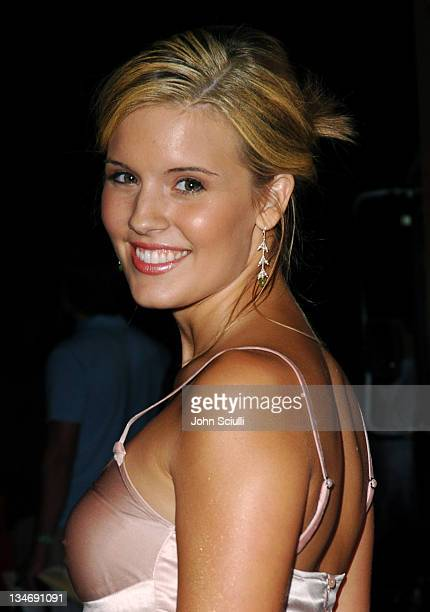 Maggie Grace during Virgin Cola at the Post MTV Movie Awards Party Red Carpet at Fame @ Xes in Hollywood California United States