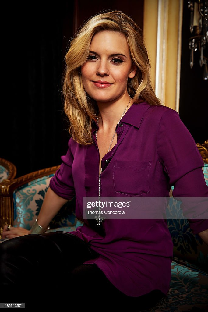 Maggie Grace visits the WireImage portrait studio at the Tribeca Film Festival Films 'About Alex,' 'Gabriel,' & 'Match' Tribeca Press Day At The Carlton Hotel Hosted With Fiji Water And Dobel Tequilaon April 18, 2014 in New York City.