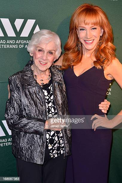 Maggie Griffin and Kathy Griffin attend IAVA's fifth annual Heroes celebration at Mr C Beverly Hills on May 8 2013 in Beverly Hills California
