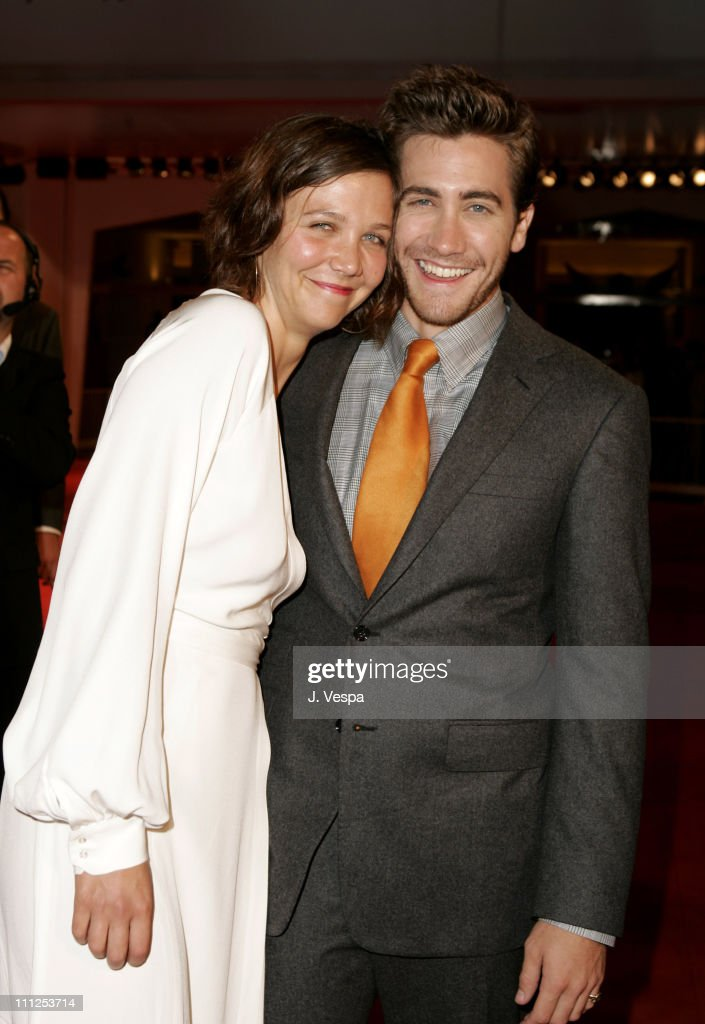 Maggie Gyllenhaal and Jake Gyllenhaal during 2005 Venice Film Festival - 'Brokeback Mountain' Premiere at Palazzo del Cinema in Venice Lido, Italy.