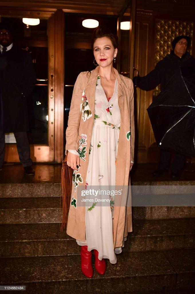 Celebrity Sightings in New York City - February 12, 2019 : News Photo