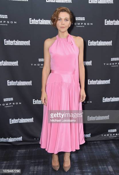 Maggie Gyllenhaal attends Entertainment Weekly's Must List Party at the Toronto International Film Festival 2018 at the Thompson Hotel on September 8...