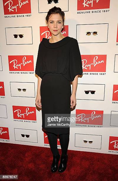 Maggie Gyllenhaal attends RayBan Remasters at Bowery Ballroom on December 9 2008 in New York City
