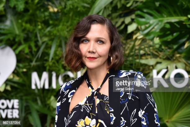 Maggie Gyllenhaal attends The 11th Annual Golden Heart Awards benefiting God's Love We Deliver at Spring Studios on October 16 2017 in New York City
