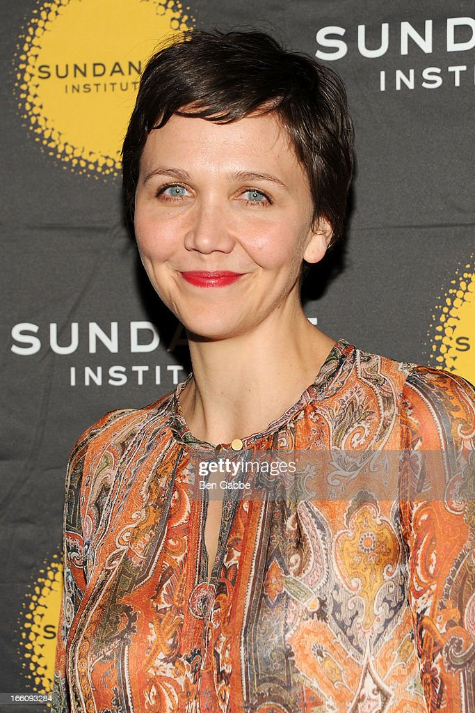 Maggie Gyllenhaal attends the 2013 Sundance Institute Theatre Program Benefit at Stephen Weiss Studio on April 8, 2013 in New York City.