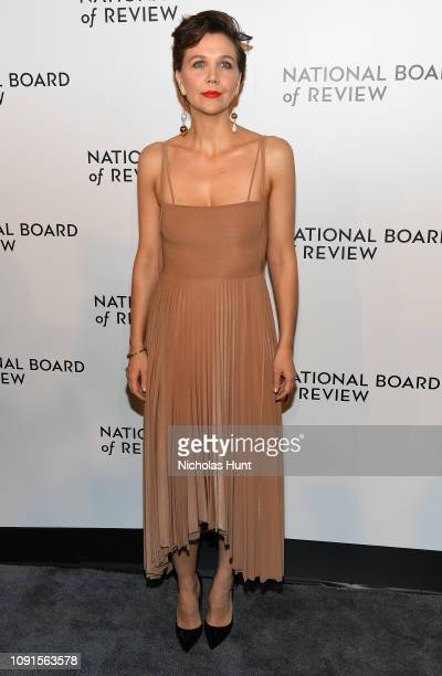 Maggie Gyllenhaal attends the 2019 National Board Of Review Gala at Cipriani 42nd Street on January 08 2019 in New York City