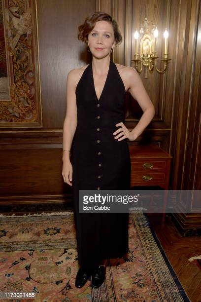 Maggie Gyllenhaal attends the Adeam Spring/Summer 2020 Dinner on September 07 2019 in New York City