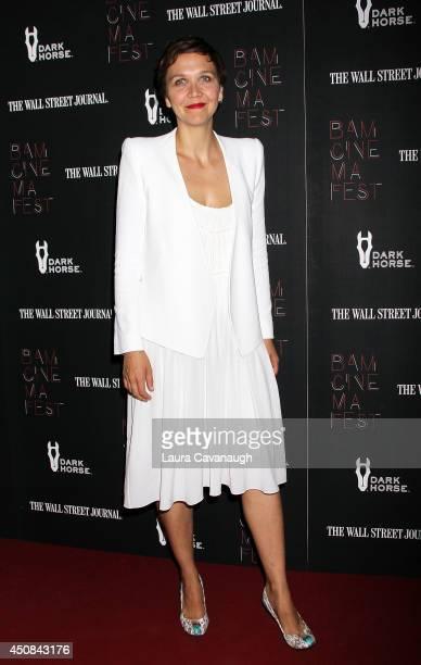"Maggie Gyllenhaal attends the ""Boyhood"" opening night screening during the 2014 BAMcinemaFest at BAM Harvey Theater on June 18, 2014 in New York City."