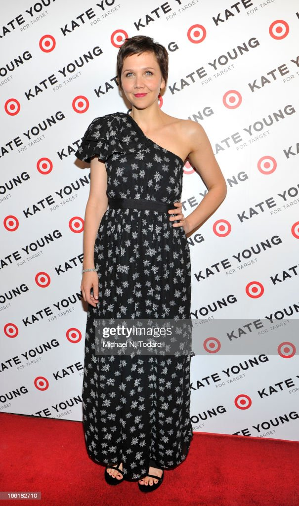 Maggie Gyllenhaal attends the Kate Young For Target Launch at The Old School NYC on April 9, 2013 in New York City.