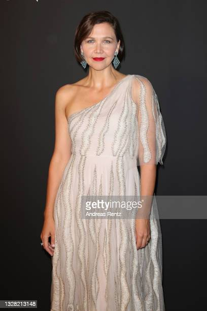 Maggie Gyllenhaal attends the Kering Women In Motion Awards during the 74th annual Cannes Film Festival on July 11, 2021 in Cannes, France.