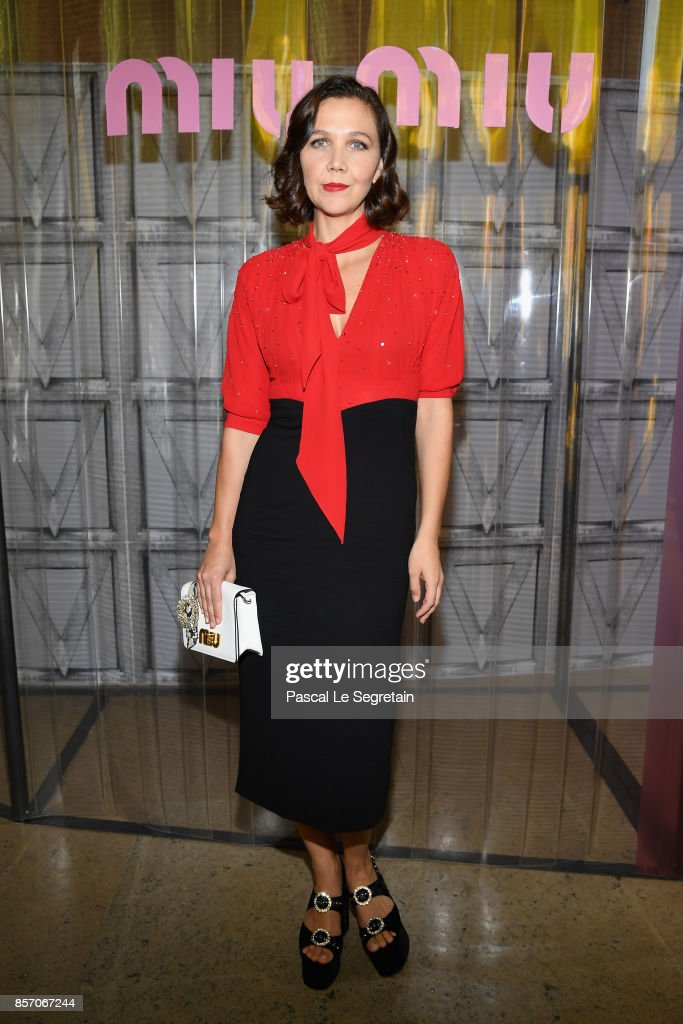 Miu Miu : Front Row - Paris Fashion Week Womenswear Spring/Summer 2018