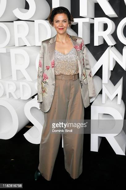 Maggie Gyllenhaal attends the Nordstrom NYC Flagship Opening Party on on October 22, 2019 in New York City.