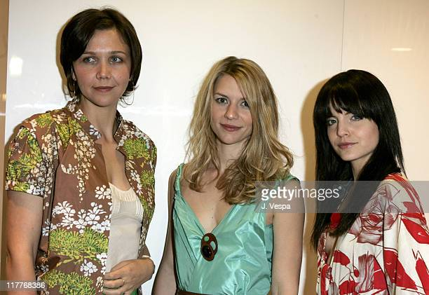 Maggie Gyllenhaal Claire Danes and Mena Suvari during MARNI's Los Angeles Boutique Opening and MARNI Designer Consuelo Castiglione's First Trip to...