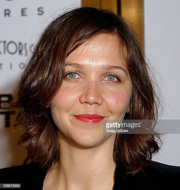 Maggie Gyllenhaal during Focus Features' Brokeback Mountain Los Angeles Premiere Arrivals at Mann National Theatre in Westwood California United...