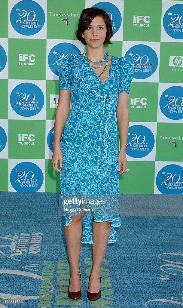 Maggie Gyllenhaal during The 20th Annual IFP Independent Spirit Awards - Arrivals in Santa Monica, California, United States.