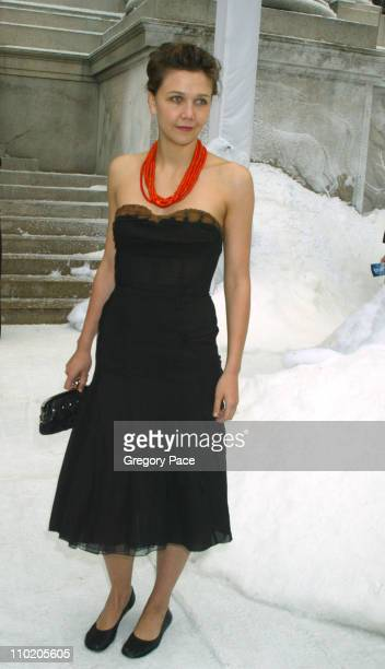 Maggie Gyllenhaal during The Day After Tomorrow New York Premiere Arrivals at American Museum of Natural History in New York City New York United...