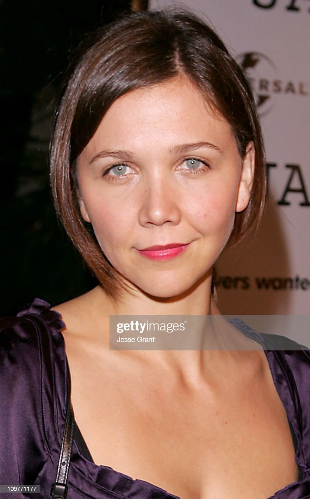 Maggie Gyllenhaal during Universal Pictures' 'Jarhead' World Premiere - Arrivals at Arclight Hollywood in Hollywood, California, United States.