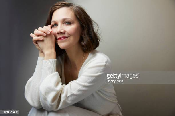 Maggie Gyllenhaal from the film 'The Kindergarten Teacher' poses for a portrait at the YouTube x Getty Images Portrait Studio at 2018 Sundance Film...