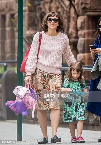 Maggie Gyllenhaal on April 25 2016 in New York City