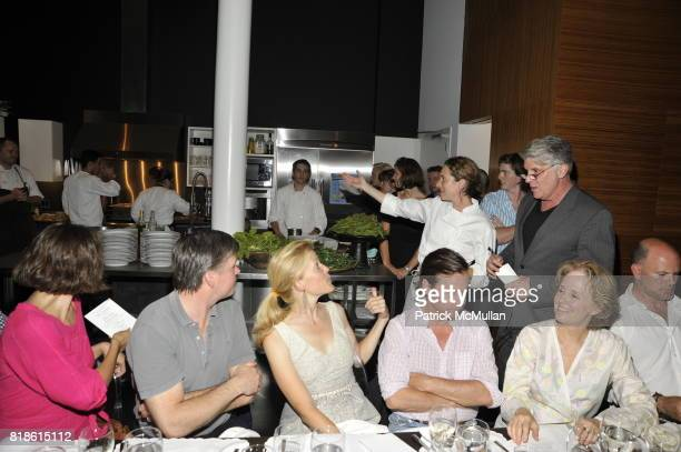 Maggie Gyllenhaal Sean Mahoney Lela Rose Alice Waters and John Lyons attend EDIBLE SCHOOLYARD NEW YORK Summer Solstice Dinner Hosted by LELA ROSE and...