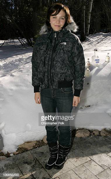 Maggie Gyllenhaal with the North Face during UPP Hot House sponsored by The North Face Napapijri Hush Puppies Nautica LEE Biolage Absolut Atkins...