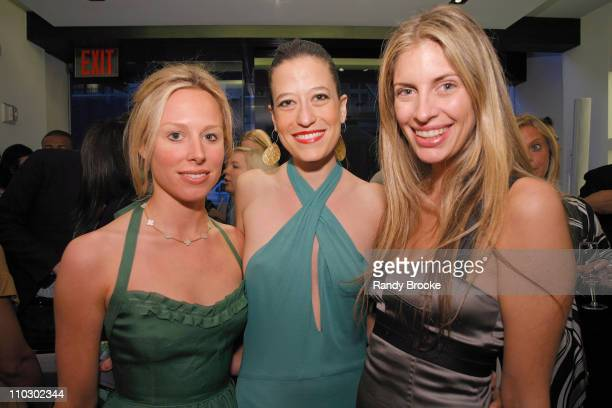 Maggie Katz and guests during Cocktail Party at Alessandro Dell'Acqua Boutique in New York City May 10 2007 at Alessandro Dell'Acqua Store in New...
