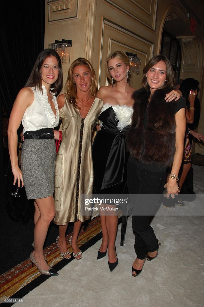 Maggie Katz, Dori Cooperman, Ivanka Trump and Zani Gugelmann attend IVANKA  TRUMP celebrates launch