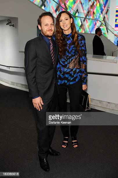 Maggie Kayne and Aaron Sandnes Hammer Museum 11th Annual Gala In The Garden With Generous Support From Bottega Veneta October 5 Los Angeles CA at...