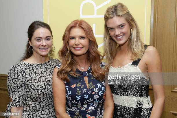 Maggie Kempner LightWorkers Media President Roma Downey and Vogue Marketing Editor Allie Michler attend the LightWorkers Crosby launch event at...