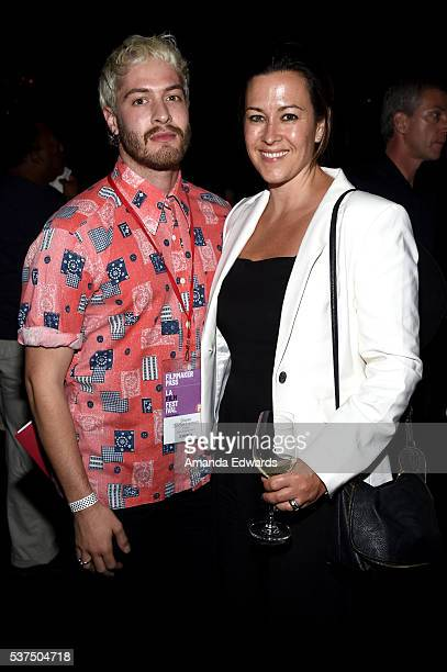 """Maggie Kiley attends the after party for the premiere of """"Lowriders"""" during opening night of the 2016 Los Angeles Film Festival at Beso on June 1,..."""