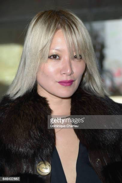 Maggie Kim Bunuel attends the Saint Laurent show as part of the Paris Fashion Week Womenswear Fall/Winter 2017/2018 on February 28 2017 in Paris...