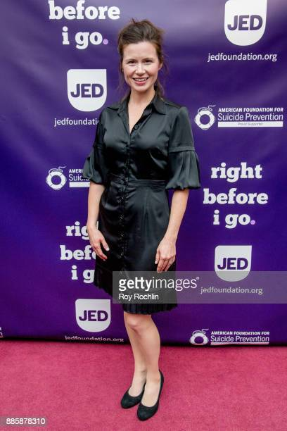 Maggie Lacey attends the 'Right Before I Go' Benefit performance at Town Hall on December 4 2017 in New York City