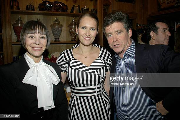Maggie Lacose Gwenaelle Gueguen and Jay McInerney attend Benoit Opening Party Hosted by Pamela Fiori and Alain Ducasse at Benoit Restaurant on April...