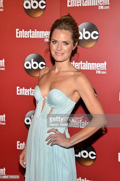 Maggie Lawson attends the Entertainment Weekly ABCTV Upfronts Party at The General on May 14 2013 in New York City