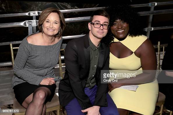 Maggie Lear Christian Siriano And Danielle Brooks Attend