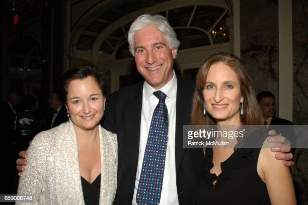 Maggie Lear John Lapook and Kate Lear attend BALLET HISPANICO's Black Slipper Ball at The Plaza Grand Ballroom on April 20 2009 in New York City